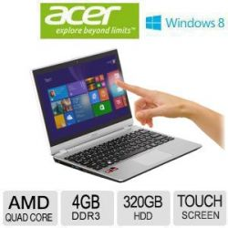 Acer Aspire V5: A6 11.6 inch Touch Screen, Ultra Slim & Power Efficient!