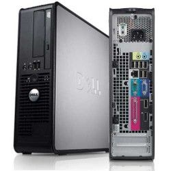 Dell Optiplex 360 Slim/SFF Desktop PC: Dual Core, 3GB RAM, 250gig HD, DVDRW